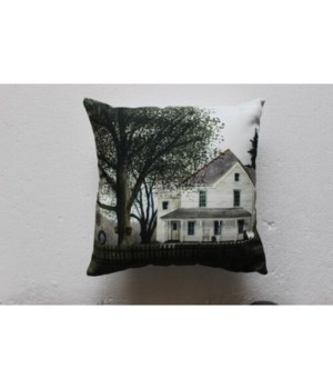 Grandma's House Pillow 12 x 12 in.