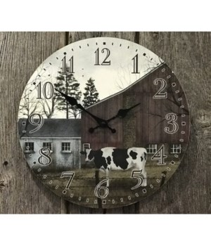 Holstein Clock 13 in.
