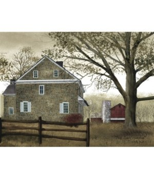 Bucks County Homestead Canvas