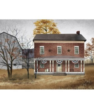 The Old Tavern House Canvas