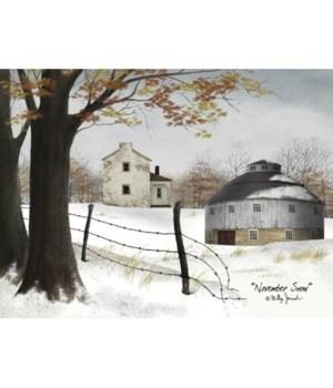 November Snow Canvas 12 x 16 in.