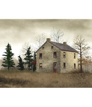 Old Stone House Canvas 12 in.x16 in.