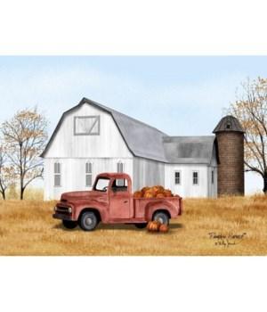 Pumpkin Harvest Canvas 12 in.x16 in.