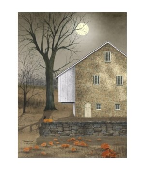Autumn Moon Canvas 12 in.x16 in.