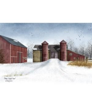 Bucks County Farm Canvas