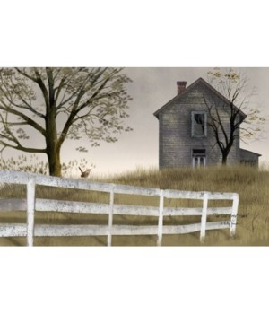 Old Grey House Canvas 12 x 18 in.