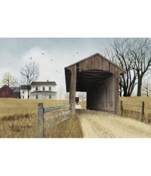 Millers Creek Bridge Canvas