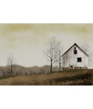 Lonely Barn Canvas 12'x18 in.