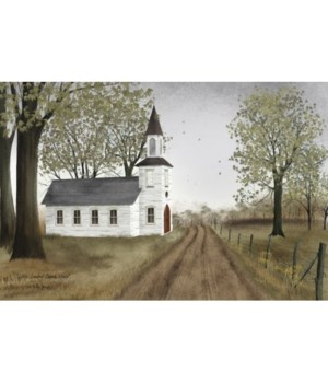 Little Cntry Church House 6 x 10 in.