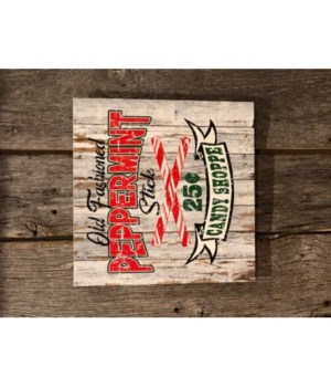 Old Fashioned Peppermint Sign