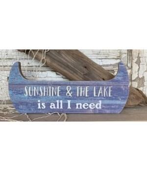 Sunshine Lake Boat Sitter 5.5 x 12.75 in.