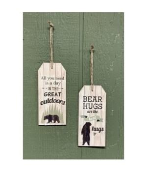 Bear Hanging Tags