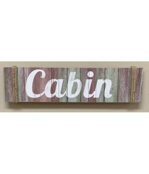 Dist Cabin Sign