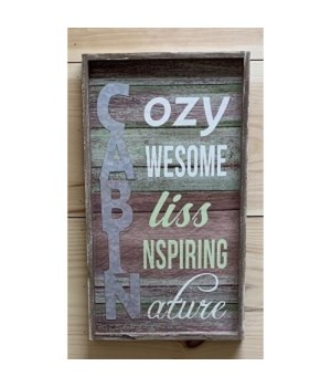 Cozy Cabin Sign