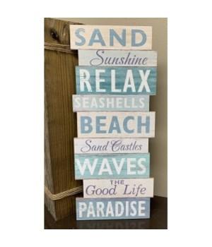 Paradise Beach Sign