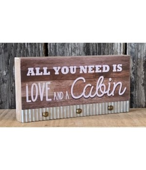 Love Cabin Sign