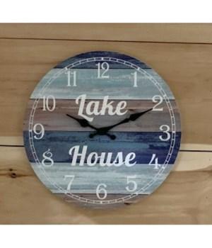 Lake House Clock 13 in.