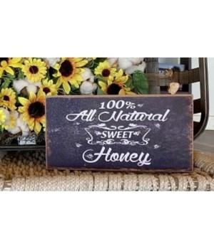 Honey Box Sign