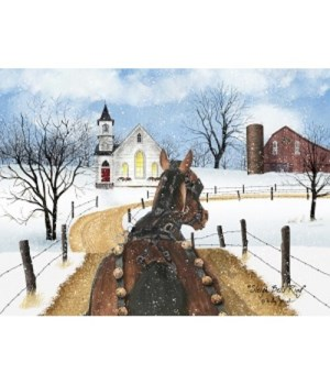 Sleigh Bell Ring 12 x 16 in.