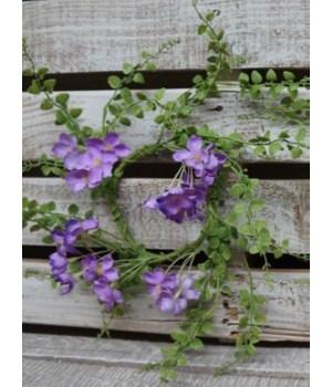 Purple Hydrangea / Fern CR