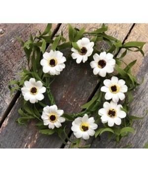 Daisy Candle Ring 4.5 in.