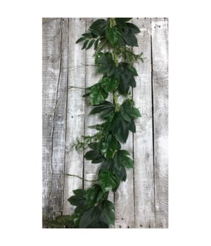 Tropical Green Garland 48 in.