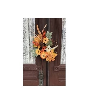 Fall Pumpkin Floral Pick 20 in.