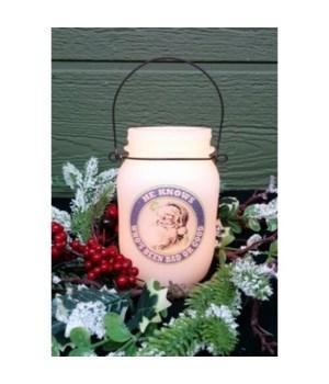 St Nick Keep Jar w/Timer 5.25