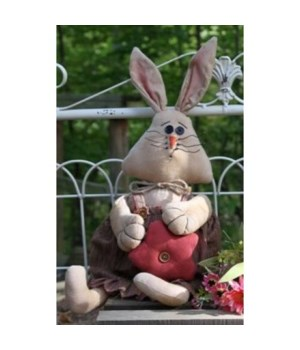 Anne Bunny Doll 23 in.