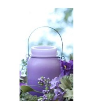 Purple Shaded LED Candle 5.25 in.