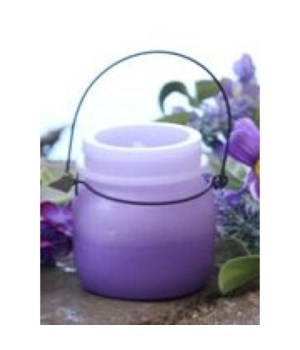 Purple Shaded LED Candle 3.5 in.