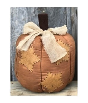 Star Patch Pumpkin