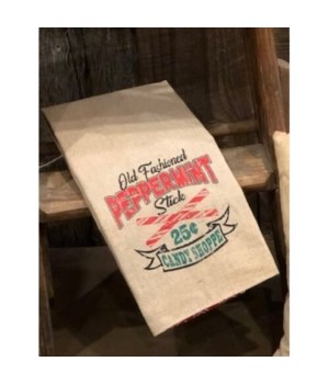 Peppermint Tea Towel