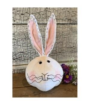 Bunny Head Sitter 12.5 in.x7.5 in.