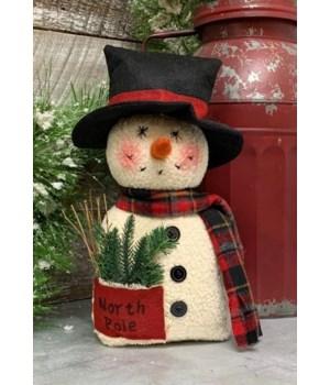 North Pole Snowman