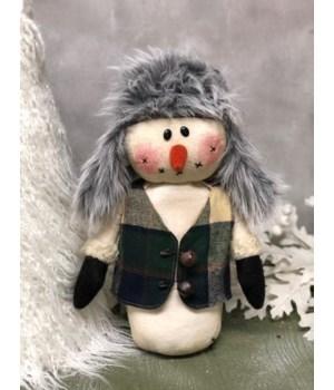 Hunter Hat Snowman