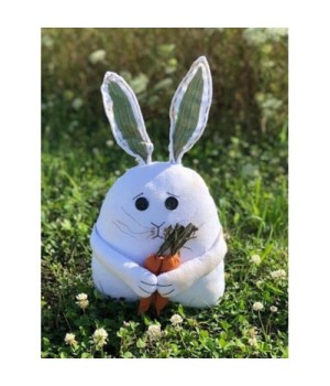 Boy Bunny with Carrots 17 in.