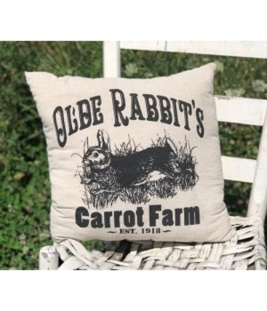 Olde Rabbit's Pillow 16 in.x16 in.