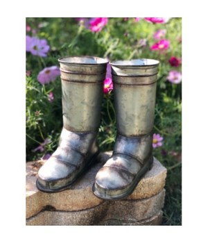 Galvanized Boots 9 x 8 in.