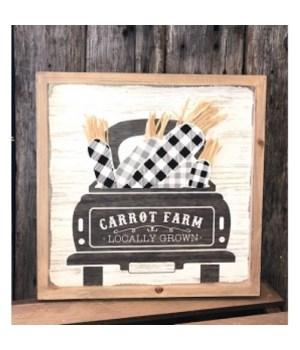 Carrot Farm 12 in.x12 in.