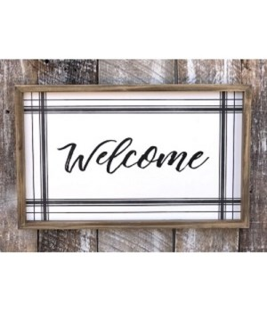Welcome Sign 12 in. x 19 in.