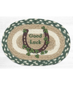 OMSP-605 Celtic Luck Printed Oval Swatch 7.5 in.x11 in.