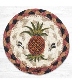 "IC-375 Pineapple Printed Coaster 5""x5"""