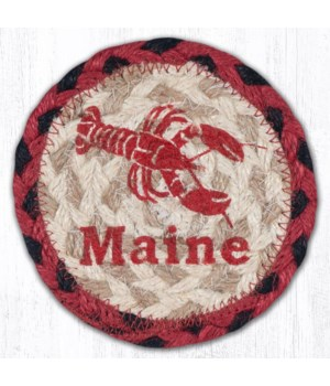 "IC-396 Lobster Maine Printed Coaster 5""x5"""