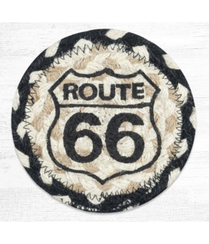 IC-430 Route 66 Printed Coaster 5 in.x5 in.