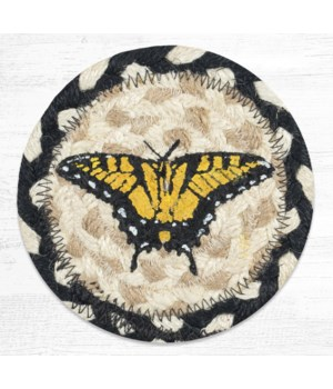 IC-430 Swallowtail Butterfly Printed Coaster 5 in.x5 in.