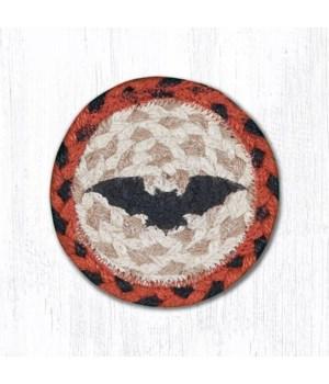 "IC-503 Bat Printed Coaster 5""x5"""