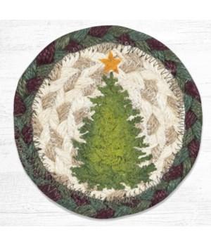 IC-508 Christmas Joy Tree Printed Coaster 5 in.x5 in.