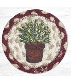 IC-524 Rosemary Printed Coaster 5 in.x5 in.