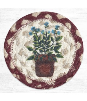 IC-524 Sage Printed Coaster 5 in.x5 in.
